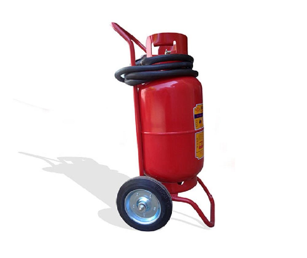 Bình chữa cháy xe đẩy bột ABC 35Kg  - MFTZ35