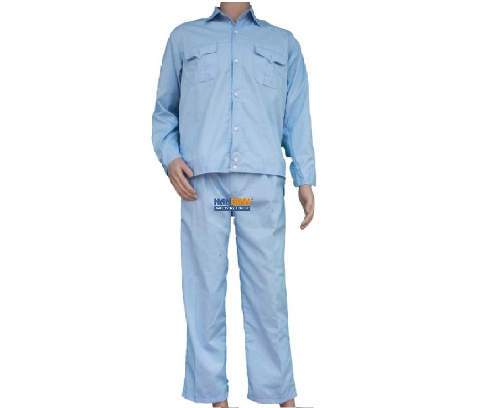 Quần áo Kaki Nam Định may sẵn - Mầu xanh ngọc