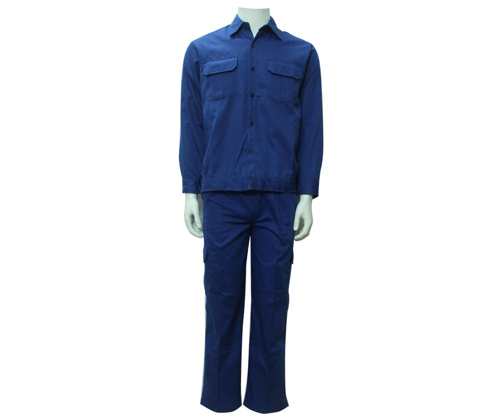 Quần áo Kaki Nam Định may sẵn - Mầu xanh công nhân